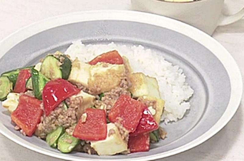 野菜たっぷりマーボー厚揚げ(山脇りこ)