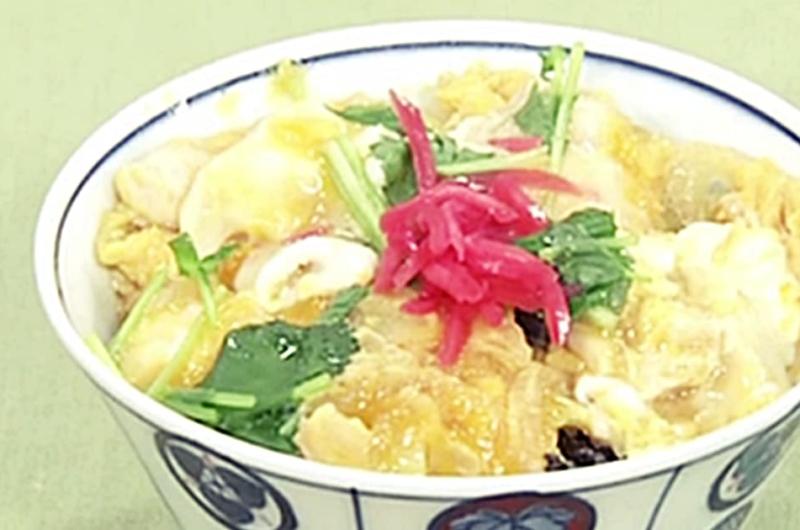 親子丼(父さんのきょうからキッチン:堀江ひろ子)