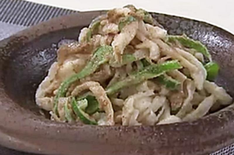 切干し大根の胡麻和え(乾物活用レシピ:星澤幸子)