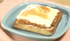 《デカ盛りハンター》納豆キムチーズ(自宅で簡単!食パン神アレンジレシピ)