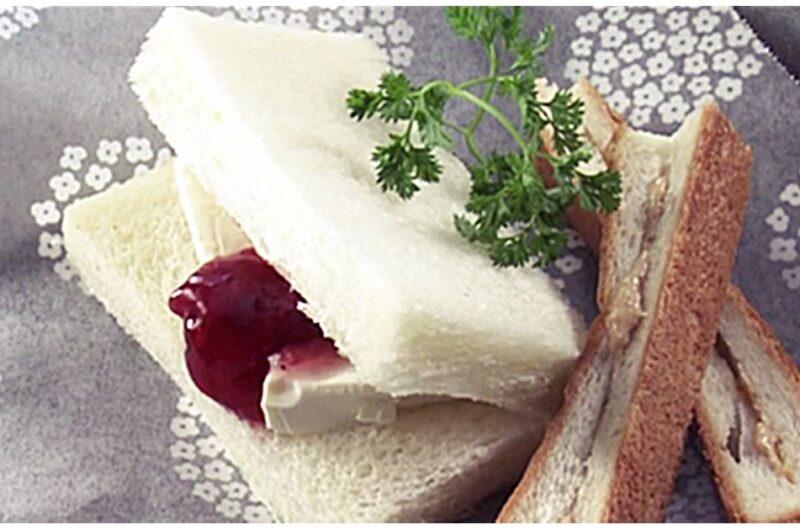いちごクリームチーズサンド(大原千鶴のお助けレシピ:持ち運びOKの朝ごはん)
