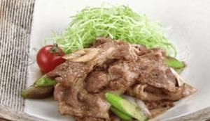 《上沼恵美子のおしゃべりクッキング》豚肉のしょうが焼き(岡本健二)