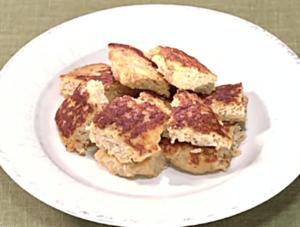 《きょうの料理》鶏ひき肉のみそローフ(近藤幸子:調味料ひとつでパパッとおかず)