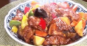 《news every.》鳥唐揚げの黒酢炒め(幸せの中華レシピ:シャウ・ウェイ)