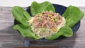 《王様のブランチ》ツナサラダ豆腐そうめん(そうめんの達人:今泉マユ子さん)