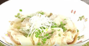 《news every.》超簡単ワンタン料理(幸せの中華レシピ:シャウ・ウェイ)