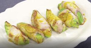 《きょうの料理》アボカドの豚肉巻き(薄切り肉で10分おかず:上田淳子)