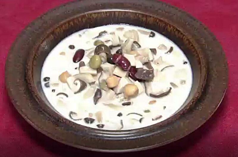 きのこと豆の豆乳みそ煮(タサン志麻:秋の食卓~きのこ~)