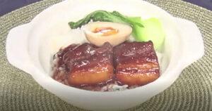 《news every.》とろとろ豚の角煮丼(幸せの中華レシピ:シャウ・ウェイ)