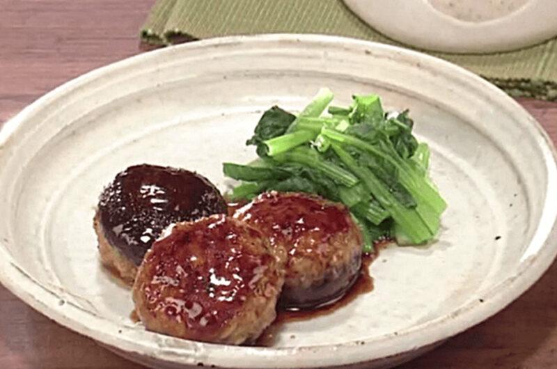 椎茸の肉詰め照り焼き(石原洋子)