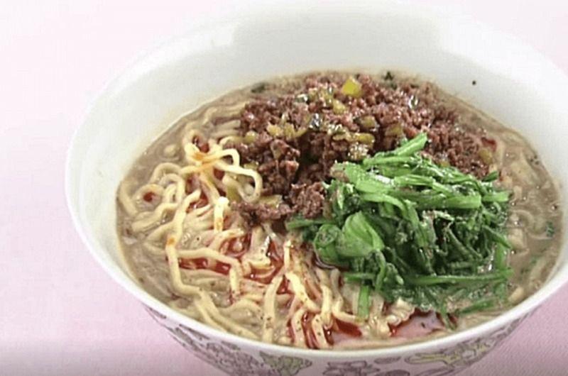 春菊の担々麺
