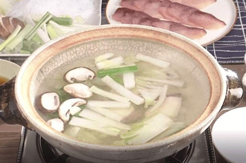 ぶりしゃぶ鍋