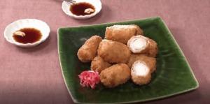 《きょうの料理ビギナーズ》ねぎの肉巻きフライ(賢く使い切りサイズで冬野菜② 冬のねぎ)