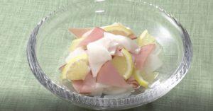 《きょうの料理ビギナーズ》大根のレモンマリネ(賢く使い切りサイズで冬野菜④ 大根)
