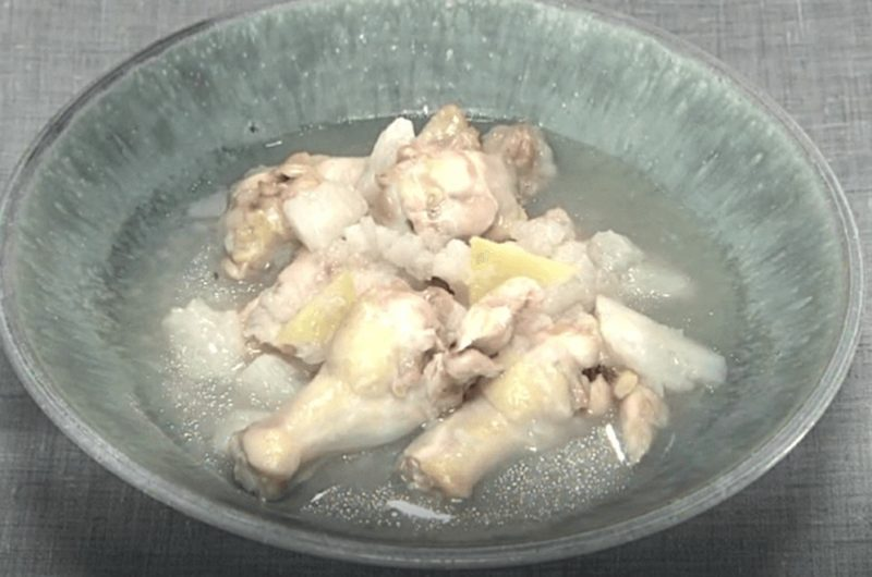 手羽元の長芋煮