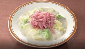 《きょうの料理ビギナーズ》白菜のクリーム煮(賢く使い切りサイズで冬野菜⑤ 白菜)