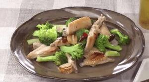 《きょうの料理ビギナーズ》ブロッコリーと鶏手羽先の中華風(賢く使い切りサイズで冬野菜⑥ ブロッコリー)