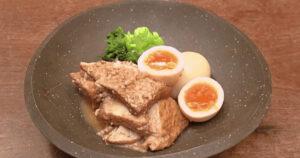《きょうの料理》厚揚げとゆで卵のみそ煮(手仕事12か月「みそ」:飛田和緒)