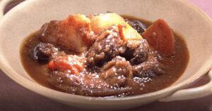 《きょうの料理》ビーフシチュー(父さんのきょうからキッチン:堀江ひろ子)