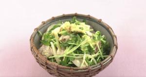 《上沼恵美子のおしゃべりクッキング》豚肉と豆苗のエスニック風(小池浩司)