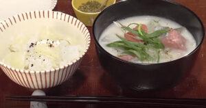 《キューピー3分クッキング》鮭の粕汁&ゆり根ごはん(一汁一飯:荒木典子)