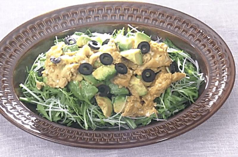 アボカドとふわとろ卵のサラダ(冬のホットデリ風サラダ:平山由香)