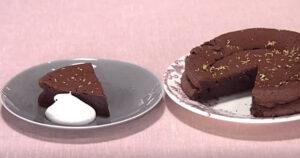 《きょうの料理》シトラスチョコレートケーキ(いちおしスイーツ:小堀紀代美)