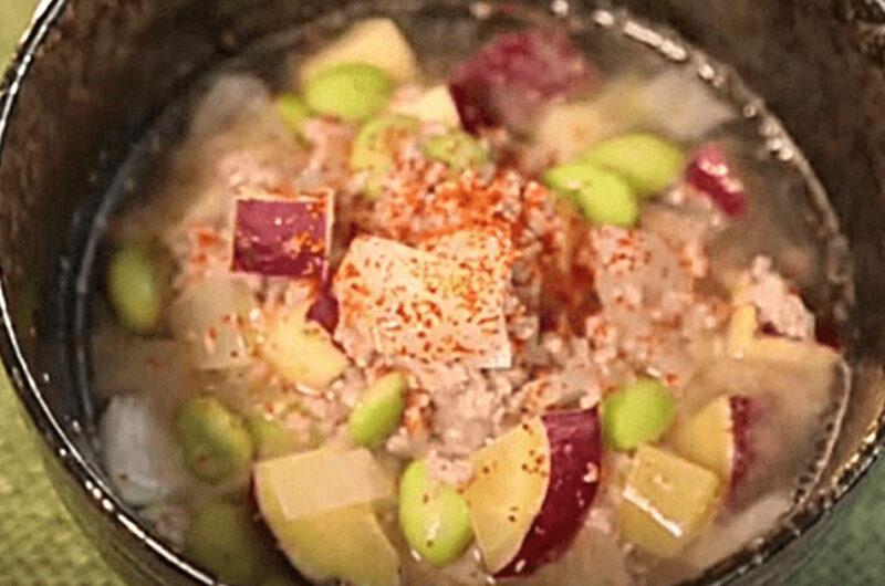 豚ひき肉とサツマイモのスープ(Atsushi)