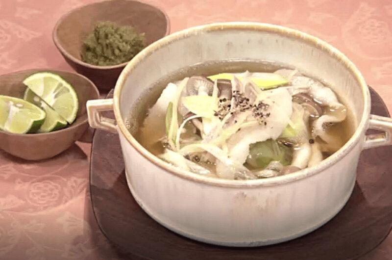 ねぎしょうがと豚バラのスープ(ねぎ・しょうがであったかレシピ:小田真規子)