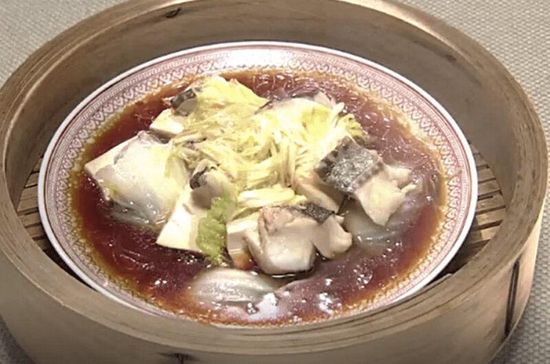 《きょうの料理》陳健太郎の香港風蒸しだら(おかず青年隊「たらで新定番」)