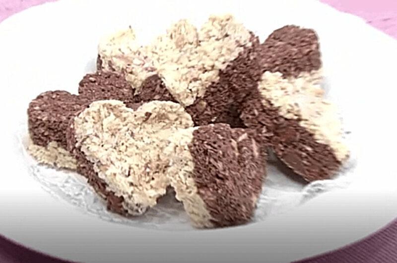 簡単チョコレートクランチ(検索きょうのおしゃレシピ)