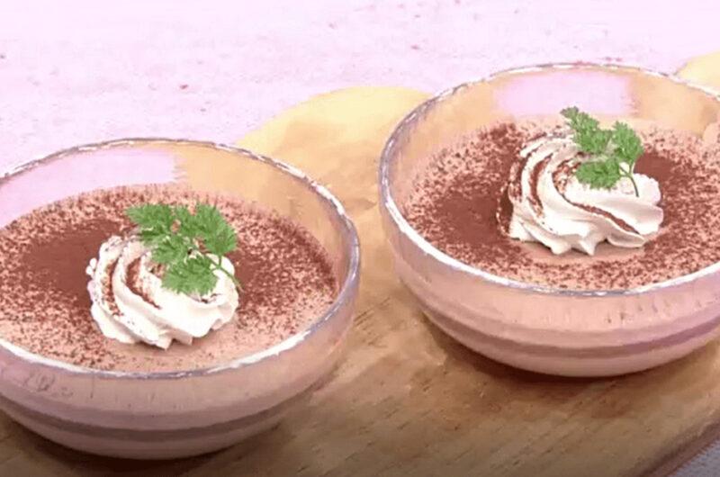マシュマロで!簡単チョコムース(検索きょうのおしゃレシピ)