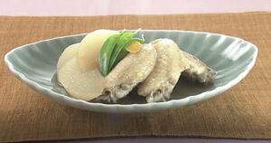 《きょうの料理》鶏手羽大根の煮物(大原千鶴のお助けレシピ:かんたん10分煮物)