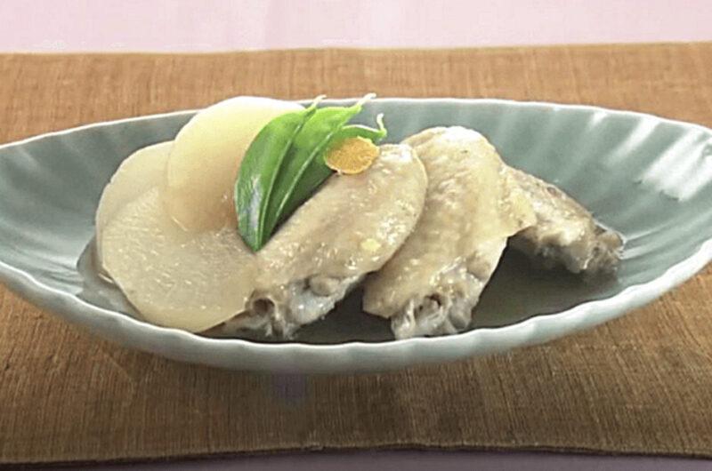 鶏手羽大根の煮物(大原千鶴のお助けレシピ:かんたん10分煮物)