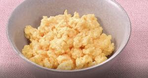 《きょうの料理ビギナーズ》いり卵(朝つくるお弁当① しっとりおいしく!そぼろ弁当)