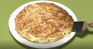 《きょうの料理》新じゃがとスモークサーモンのチーズガレット(関岡弘美:新たま・新じゃが 春おかず)
