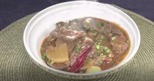 《news every.》牛肉と大根の四川風ピリ辛丼(幸せの中華レシピ:シャウ・ウェイ)