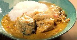 《土曜はナニする》サバ缶で作る南国風スパイスカレー(印度カリー子)