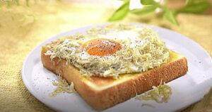 《土曜はナニする》しらすのアヒージョトースト(トーストアレンジレシピ:山口繭子)
