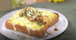 《土曜はナニする》ポテサラトースト(トーストアレンジレシピ:山口繭子)