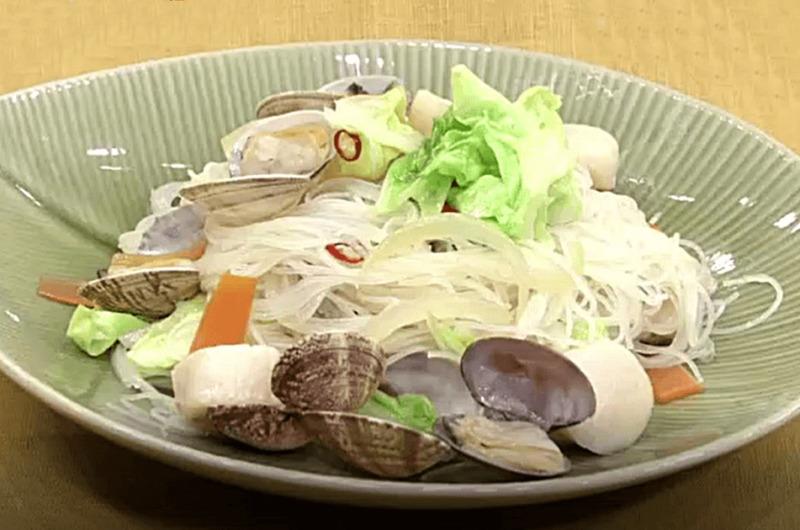 アサリたっぷり焼きビーフン(坂本昌行のOne Dish)