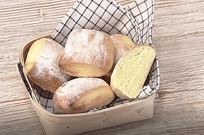 切りっぱなしのふんわりパン(ムラヨシマサユキの簡単手づくりパン)