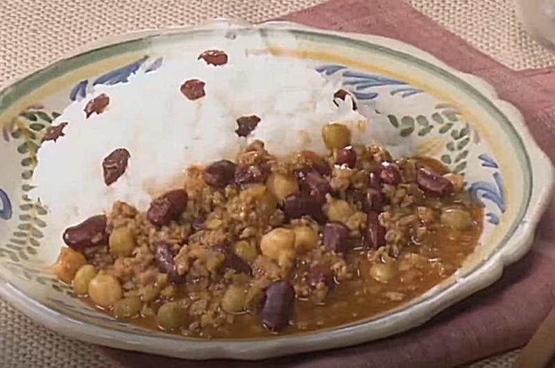 豆のカレー(ストック食材でおいしくヘルシー)