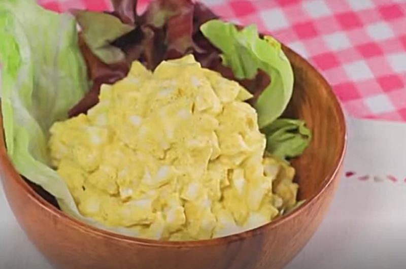 タクコたまごサラダ(スパイスで!さっぱりレシピ:印度カリー子)