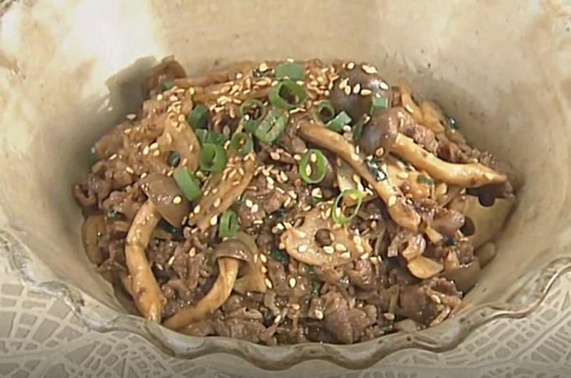 牛肉のしぐれ味噌(岡本健二)