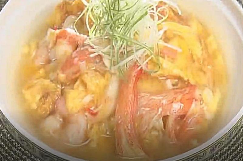ふわふわ塩ダレ天津飯(幸せの中華レシピ:シャウ・ウェイ)