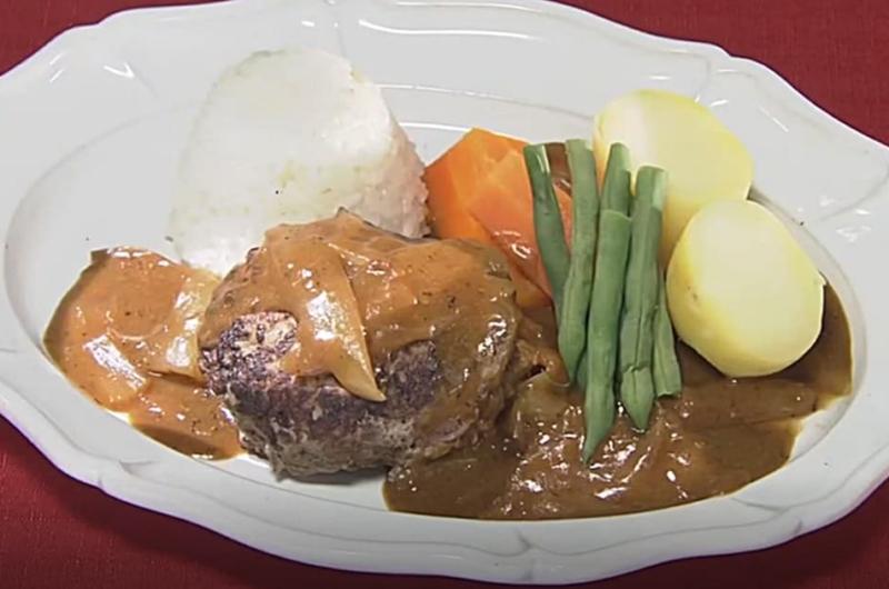 カレーハンバーグ(タサン志麻の料理上手への道)