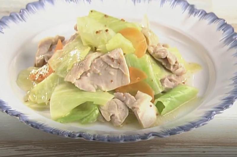 鶏とキャベツの温サラダ(小池浩司)