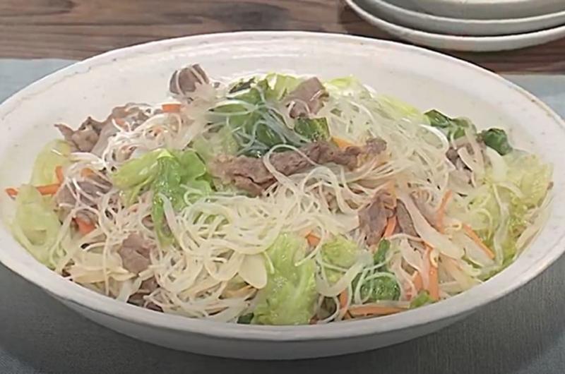 牛肉とレタスのビーフン(田口成子)