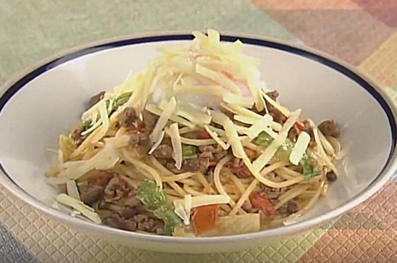 タコス風味のスパゲッティ(小池浩司)
